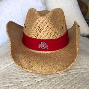 NWOT Peter Grimm Ohio State Cowboy Hat